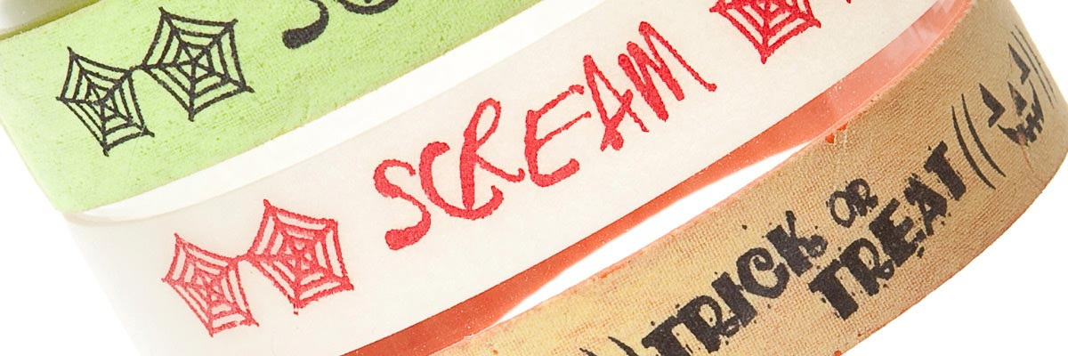 infostraps-printed-rubber-bands-scream-trick-or-treat